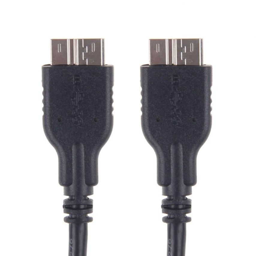 Sync cable and transfer OTG USB 3.0 to USB 3.0 black