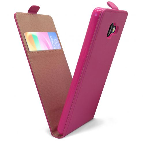 Clamshell Flip Flexi Case for Samsung Galaxy A5 2016 (A510) Eco Leather Pink