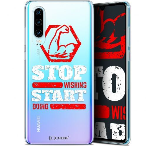 "Extra Slim Gel Huawei P30 (6.1"") Case Quote Start Doing"