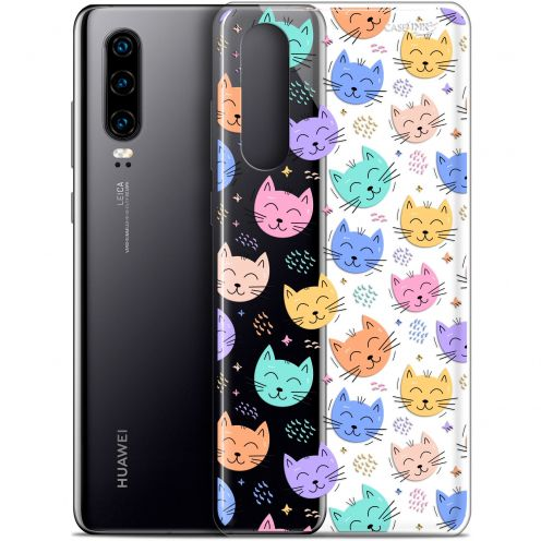 "Extra Slim Gel Huawei P30 (6.1"") Case Design Chat Dormant"