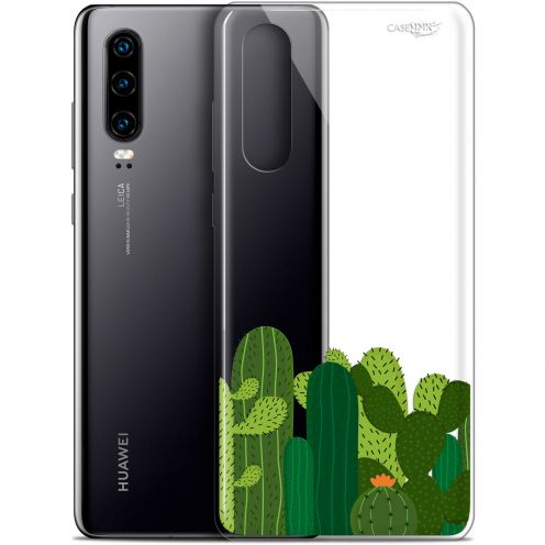 "Extra Slim Gel Huawei P30 (6.1"") Case Design Cactus"