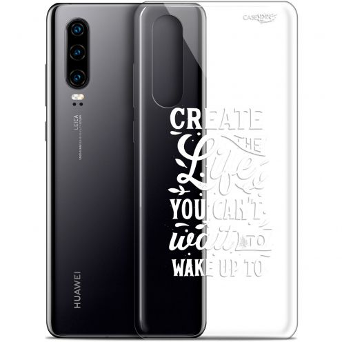 "Extra Slim Gel Huawei P30 (6.1"") Case Design Wake Up Your Life"