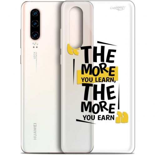 "Extra Slim Gel Huawei P30 (6.1"") Case Design The More You Learn"