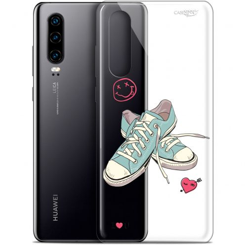 "Extra Slim Gel Huawei P30 (6.1"") Case Design Mes Sneakers d'Amour"