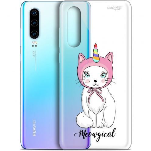 "Extra Slim Gel Huawei P30 (6.1"") Case Design Ce Chat Est MEOUgical"