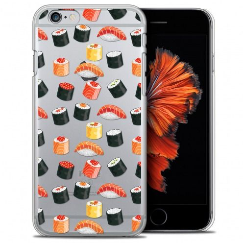 Extra Slim Crystal iPhone 6/6s (4.7) Case Foodie Sushi