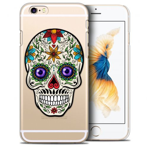 Extra Slim Crystal iPhone 6/6s (4.7) Case Skull Maria's Flower