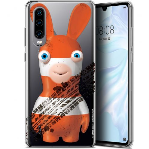 """Gel Huawei P30 (6.1"""") Case Lapins Crétins™ On the Road"""