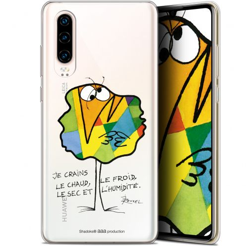 """Extra Slim Gel Huawei P30 (6.1"""") Case Les Shadoks® Chaud ou Froid"""