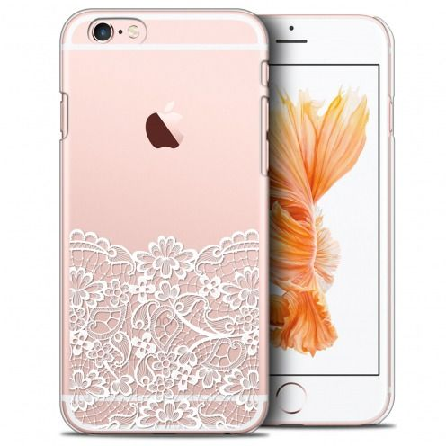 Extra Slim Crystal iPhone 6/6s Plus (5.5) Case Spring Bas dentelle