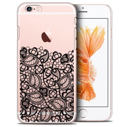 Extra Slim Crystal iPhone 6/6s (4.7) Case Spring Bas dentelle Noir