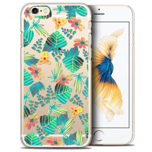 Extra Slim Crystal iPhone 6/6s Plus (5.5) Case Spring Tropical