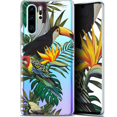 "Extra Slim Gel Huawei P30 Pro (6.47"") Case Design Toucan Tropical"