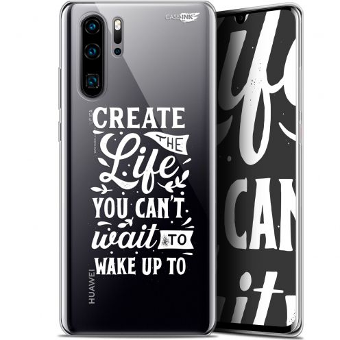 "Extra Slim Gel Huawei P30 Pro (6.47"") Case Design Wake Up Your Life"