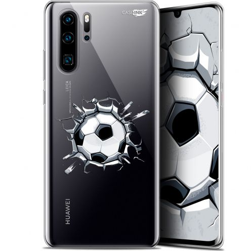 "Extra Slim Gel Huawei P30 Pro (6.47"") Case Design Le Balon de Foot"