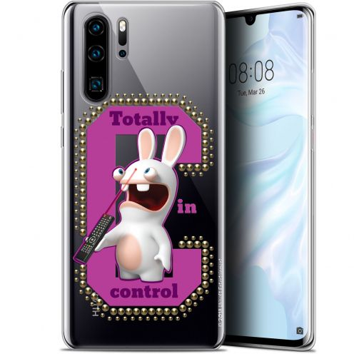 "Gel Huawei P30 Pro (6.47"") Case Lapins Crétins™ In Control !"