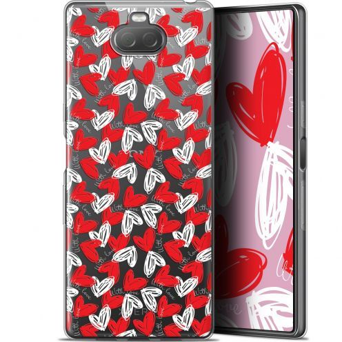 """Extra Slim Gel Sony Xperia 10 (6"""") Case Love With Love"""