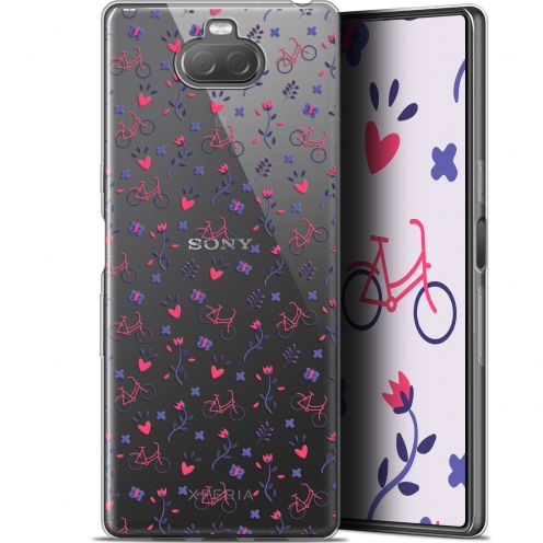 """Extra Slim Gel Sony Xperia 10 (6"""") Case Love Bicycle"""