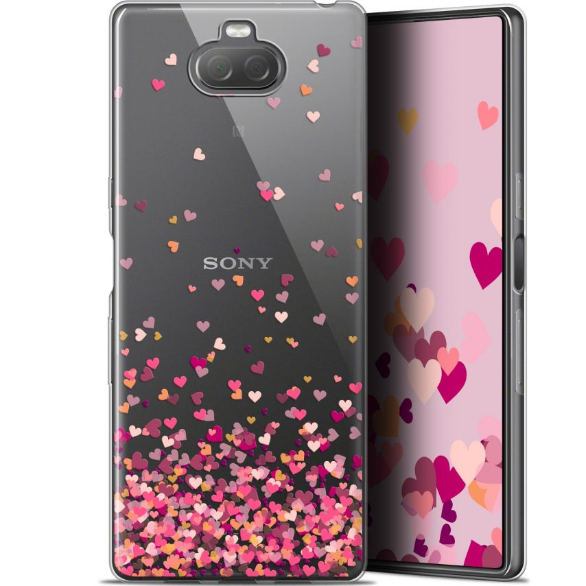 "Extra Slim Gel Sony Xperia 10 (6"") Case Sweetie Heart Flakes"