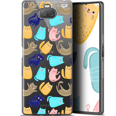 "Extra Slim Gel Sony Xperia 10 (6"") Case Design Chat Danse"