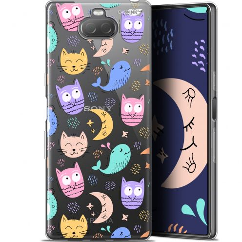 "Extra Slim Gel Sony Xperia 10 (6"") Case Design Chat Hibou"