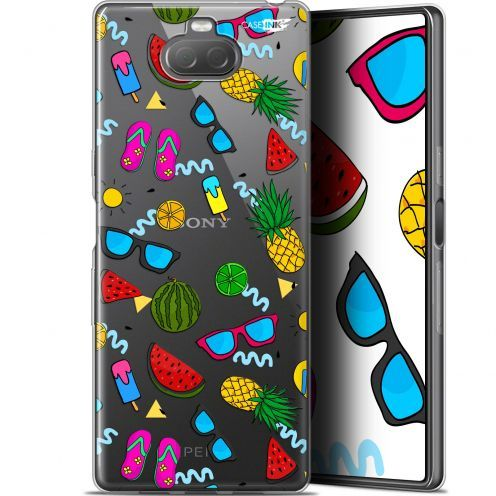 "Extra Slim Gel Sony Xperia 10 (6"") Case Design Summers"