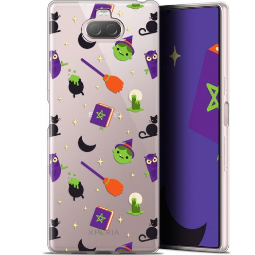 "Extra Slim Gel Sony Xperia 10 Plus (6.5"") Case Halloween Witch Potter"