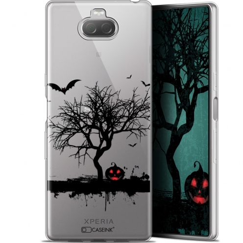"Extra Slim Gel Sony Xperia 10 Plus (6.5"") Case Halloween Devil's Tree"