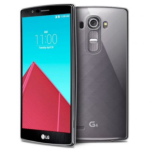 Extra Slim 1mm Crystal Clear View Flexible Case LG G4