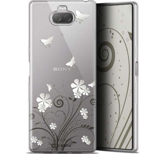 "Extra Slim Gel Sony Xperia 10 Plus (6.5"") Case Summer Papillons"