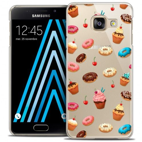 Extra Slim Crystal Galaxy A3 2016 (A310) Case Foodie Donuts
