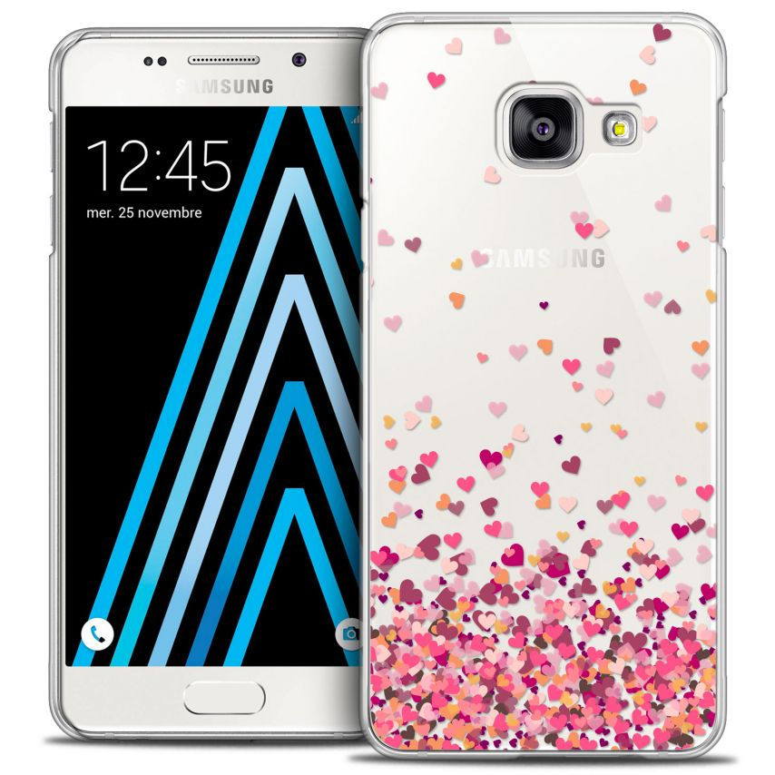 Extra Slim Crystal Galaxy A3 2016 (A310) Case Sweetie Heart Flakes