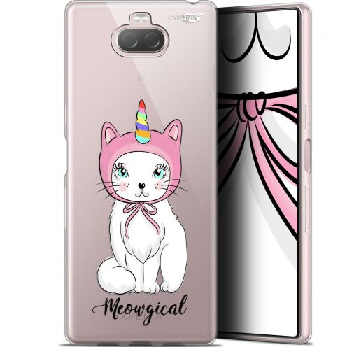 "Extra Slim Gel Sony Xperia 10 Plus (6.5"") Case Design Ce Chat Est MEOUgical"