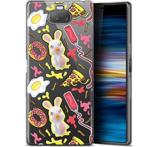 "Gel Sony Xperia 10 Plus (6.5"") Case Lapins Crétins™ Egg Pattern"