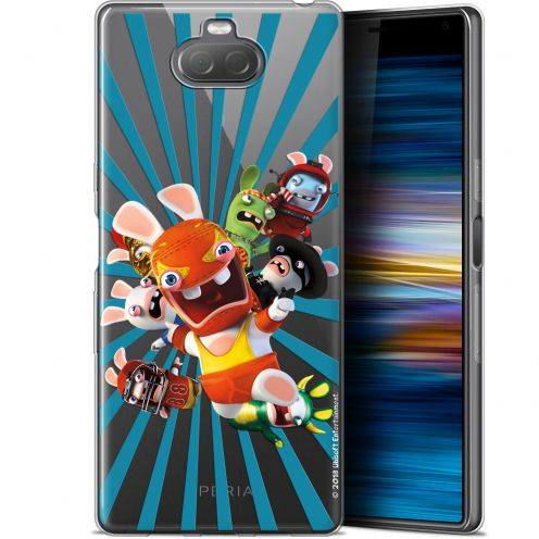 "Gel Sony Xperia 10 Plus (6.5"") Case Lapins Crétins™ Super Heros"