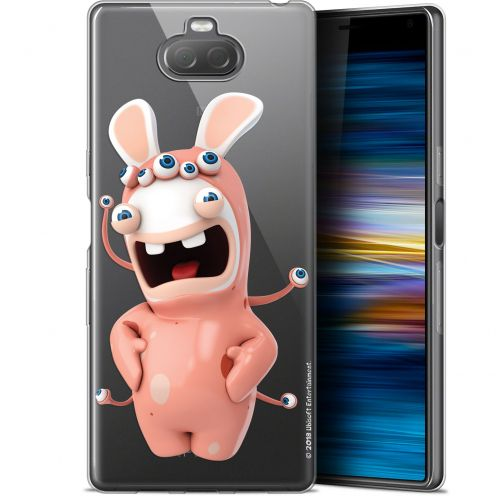 """Gel Sony Xperia 10 Plus (6.5"""") Case Lapins Crétins™ Extraterrestre"""