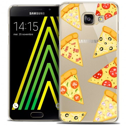 Extra Slim Crystal Galaxy A5 2016 (A510) Case Foodie Pizza