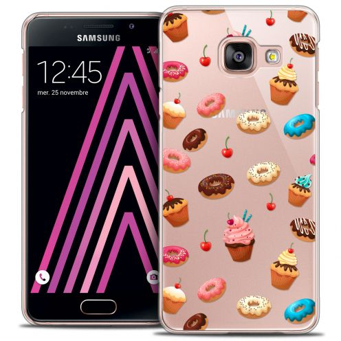 Extra Slim Crystal Galaxy A5 2016 (A510) Case Foodie Donuts