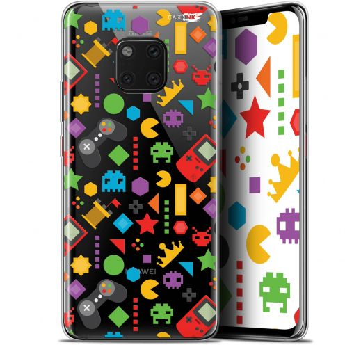"Extra Slim Gel Huawei Mate 20 Pro (6.39"") Case Design PacMan"