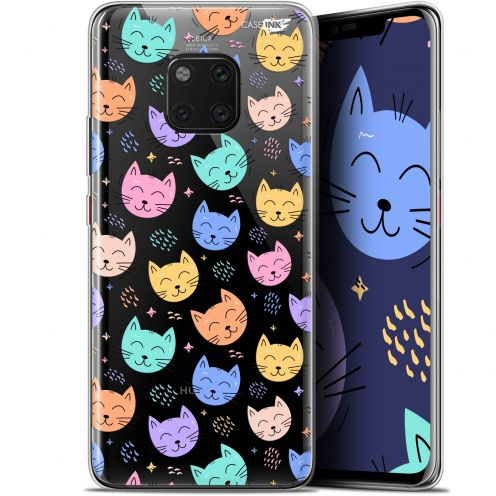 "Extra Slim Gel Huawei Mate 20 Pro (6.39"") Case Design Chat Dormant"