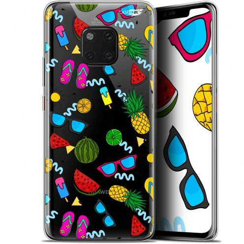 "Extra Slim Gel Huawei Mate 20 Pro (6.39"") Case Design Summers"