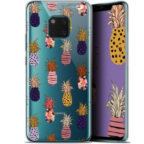"Extra Slim Gel Huawei Mate 20 Pro (6.39"") Case Design Ananas Gold"