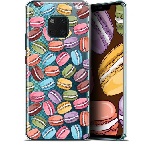 "Extra Slim Gel Huawei Mate 20 Pro (6.39"") Case Design Macarons"