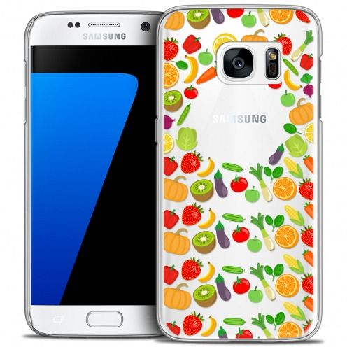 Extra Slim Crystal Galaxy S7 Case Foodie Healthy