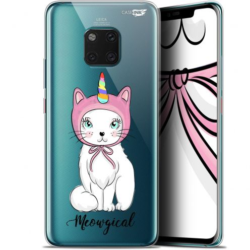 """Extra Slim Gel Huawei Mate 20 Pro (6.39"""") Case Design Ce Chat Est MEOUgical"""