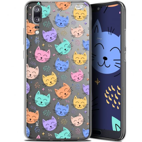 "Extra Slim Gel Huawei P20 (5.8"") Case Design Chat Dormant"
