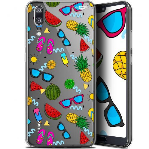 "Extra Slim Gel Huawei P20 (5.8"") Case Design Summers"