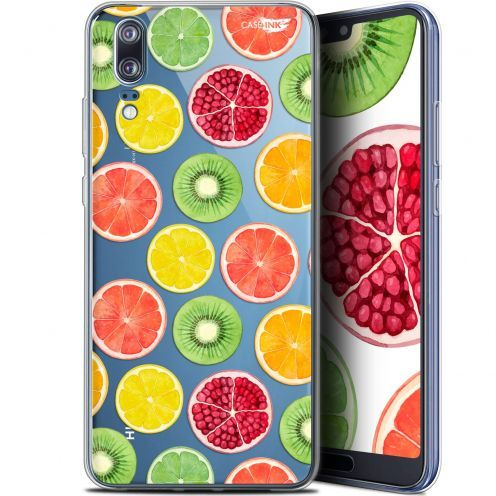 "Extra Slim Gel Huawei P20 (5.8"") Case Design Fruity Fresh"