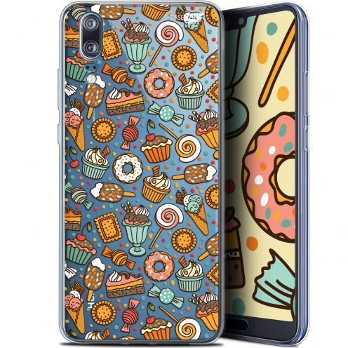 "Extra Slim Gel Huawei P20 (5.8"") Case Design Bonbons"