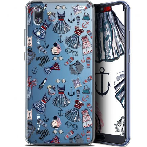 "Extra Slim Gel Huawei P20 (5.8"") Case Design Fashionista"